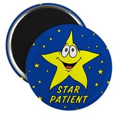 "Star Patient 2.25"" Magnet (100 pack)"