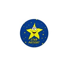 Star Patient Mini Button (10 pack)