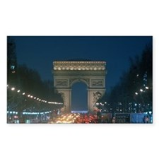 Arc de Triumph and traff Decal