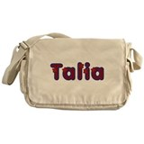 Talia Red Caps Messenger Bag