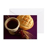 Communion elements Greeting Cards (Pk of 20)