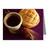 Communion elements Note Cards (Pk of 10)