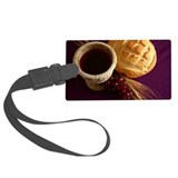 Communion elements Large Luggage Tag