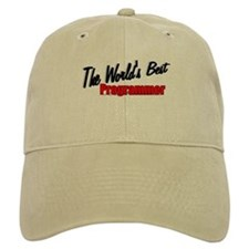 """The World's Best Programmer"" Baseball Cap"
