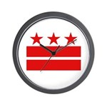 3 Stars 2 Bars Wall Clock