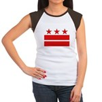 3 Stars 2 Bars Women's Cap Sleeve T-Shirt