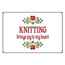 Knitting Joy Banner