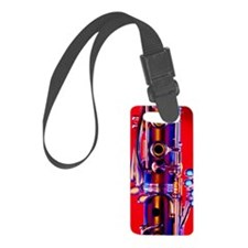 Bassoon Small Luggage Tag