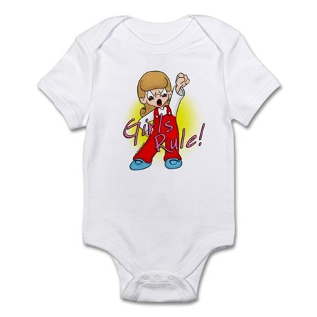 Girls Rule!  Infant Bodysuit