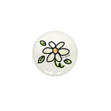 Funny Spring garden Mini Button (10 pack)