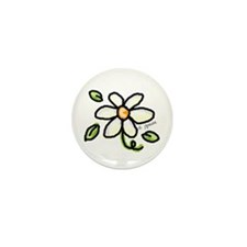 Unique Daisy Mini Button (10 pack)