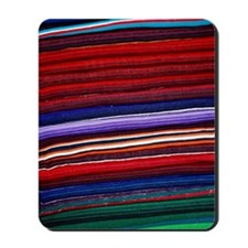 Mexican blankets Mousepad