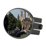 England, Yorkshire, York, York Mi Oval Hitch Cover