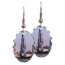 Sears Tower in Chicago skyline, Earring
