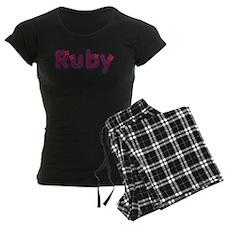 Ruby Red Caps Pajamas
