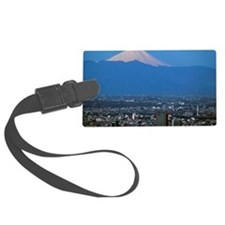 Aerial view of Tokyo, Japan with Luggage Tag