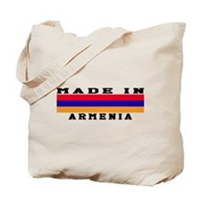 Armenia Made In Tote Bag