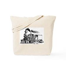 Steam Engine Tote Bag