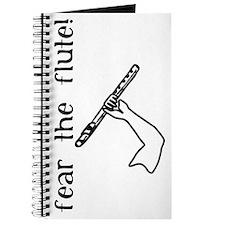 Fear the Flute Journal, Black on White