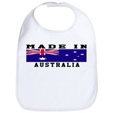 Australia Made In Bib