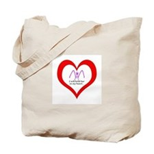 Hold You In My Heart (1 Unspe Tote Bag