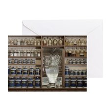 Old Fashioned Pharmacy D Greeting Cards (Pk of 20)