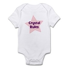 Crystal Rules Infant Bodysuit