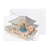 Japan, Nara, Todai-ji Te Greeting Cards (Pk of 20)
