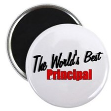 """The World's Best Principal"" Magnet"
