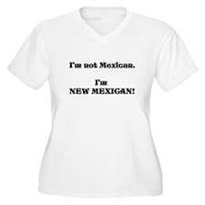New Mexican Plus Size T-Shirt