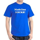 Madeline Rocks! Black T-Shirt