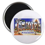 Jackson Mississippi Greetings Magnet