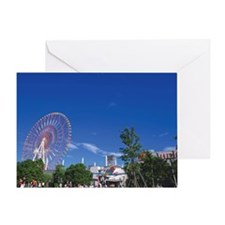 Palette town Greeting Card