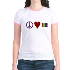 Peace, Love, Equality T