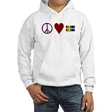 Peace, Love, Equality Jumper Hoody