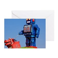 Robot and Robot Dog Greeting Cards (Pk of 10)