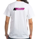 Shirt with Pink logo