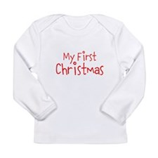 My First Christmas Long Sleeve T-Shirt