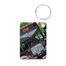Public city bus Keychains