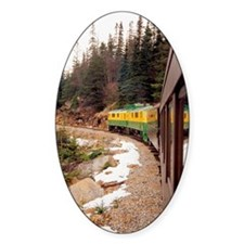 White Pass Narrow Gauge Railroad tr Decal