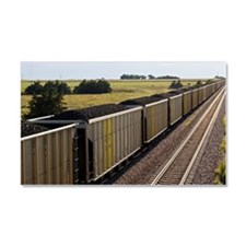 Coal Cars Car Magnet 20 x 12