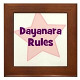 Dayanara Rules Framed Tile