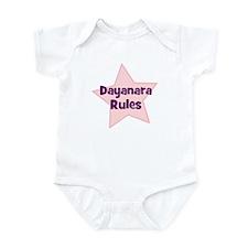 Dayanara Rules Infant Bodysuit