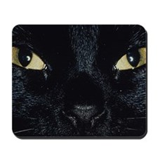 Close-up of cat Mousepad