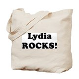 Lydia Rocks! Tote Bag