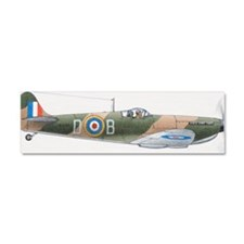 1939 Supermarine Spitfire, side  Car Magnet 10 x 3