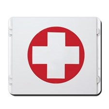 First aid kit Mousepad