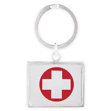 First aid kit Landscape Keychain
