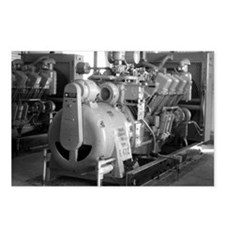 Engine room Postcards (Package of 8)