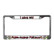 Female Anime PHP License Plate Frame